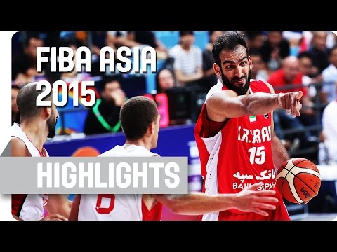 Palestine v Iran - Group E - Game Highlights - 2015 FIBA Asia Championship