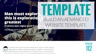How to Build an Advanced Website Template Using PHP and Bootstrap