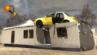 BeamNG.Drive Mod : House beta (Crash test)