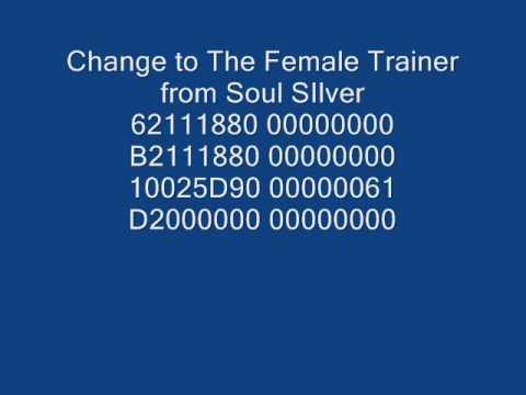 Action Replay Codes for Heart Gold Soul Silver U Hundreds ...
