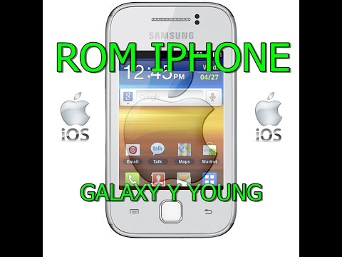 como instalar rom de iphone (IOS) no galaxy y (100%FUNCIONAL)