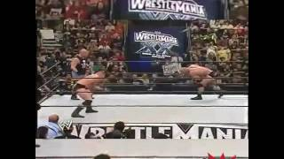 Wrestlemania 20 gold burg vs broke