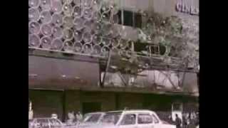 آتش زدن ساختمان شرکت بی ام و، بانکها و سینماها توسط شورشیان ۵۷