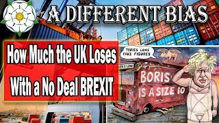The BREXIT Export Losses - With Maths so simple, a child could understand.