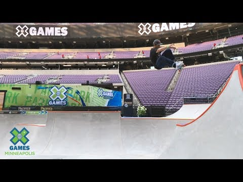 Skateboard Park Preview with Alex Sorgente | X Games Minneapolis 2019