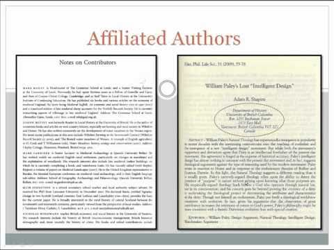 how to find academic journal articles