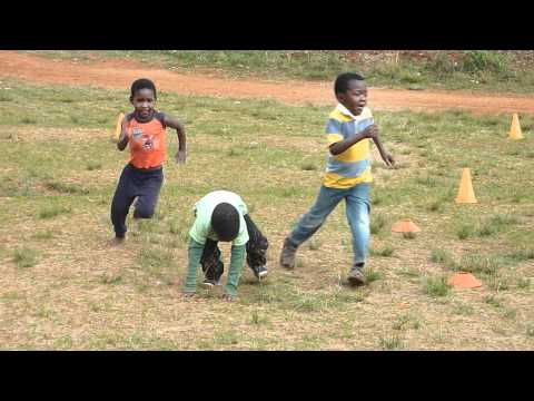 Family Sports in Swaziland, Africa