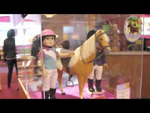 Free tour of American Girl Store..!!  for those that cannot go to a store.