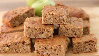 Healthy Apple Oatmeal Snack Cake Recipe