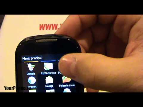 Samsung Corby S3650 - Review In Romana video
