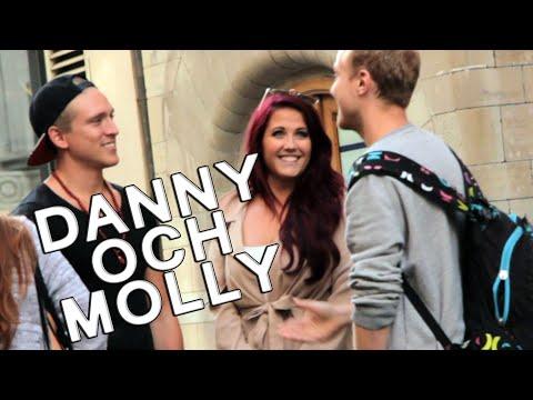 Olle driver med Molly och Danny