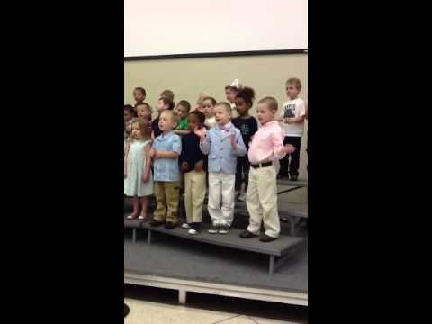 Hayden's Mother's Day gift at Rosehill Christian School - 05/10/2013