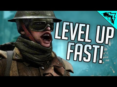 Battlefield 1 How to Rank up Fast - Level up Fast in BF1!