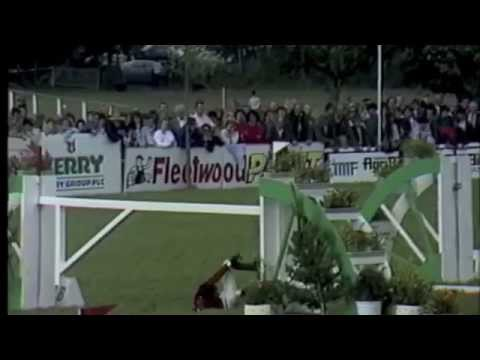 Equestrian Showjumping falls and fails