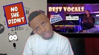 Vocal Showcase: Ariana Grande at the Live Lounge + Capital Up Close [Reaction]