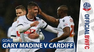 WHAT A STRIKE! | Gary Madine fires past David Marshall
