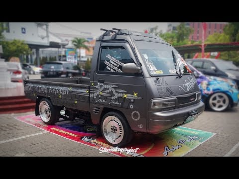 Modifikasi Suzuki Carry Pick Up Simple Tapi Keren