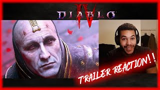 DIABLO 4 Cinematic Trailer Reaction & Review WOW!!