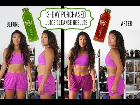 Healthy Habits: 3-Day Purchased Juice Cleanse Results