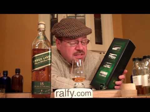 scotch whisky review 112 - Johnnie Walker Green Label klip izle