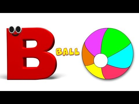 Phonics Letter- B song Kids Tv Nursery Rhymes S01EP143