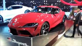 2020 Toyota Supra At the 2019 New York International Auto Show
