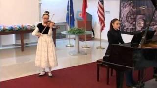 MEDITATION  FROM THAIS  J MASSENET PLAY  UENDI  REKA WITH PIANIST BESJANA CEGRANI