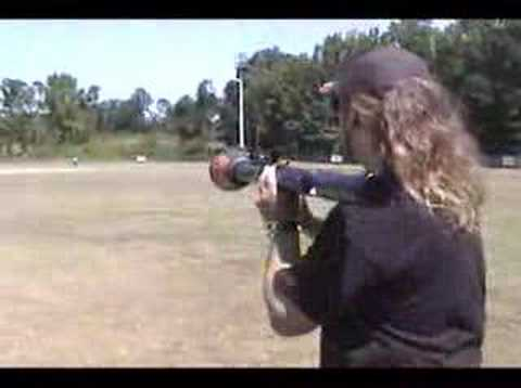 Paintball Rocket Launcher