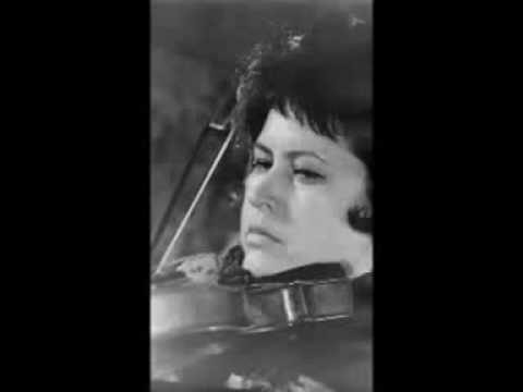 LEGENDARY VIOLINISTS: ZORIA SHIKHMURZAYEVA plays Bizet Three Pieces op 21: April Song
