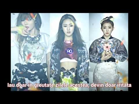 4minute - Only Gained Weight (살만찌고) [Romanian sub]