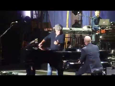 "Billy Joel / Brian Johnson ""You Shook Me All Night Long"" NYC 3/21/14"