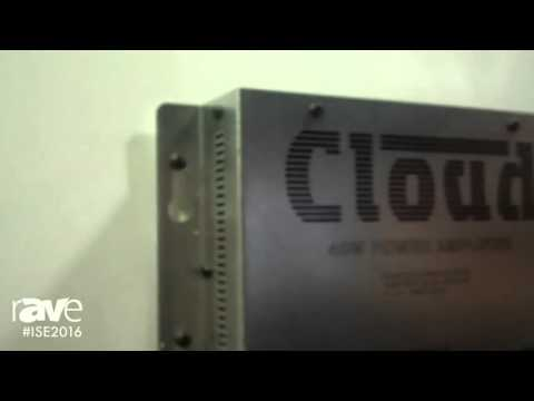 ISE 2016: Cloud Electronics Exhibits MA40 Series of Mini Amplifiers