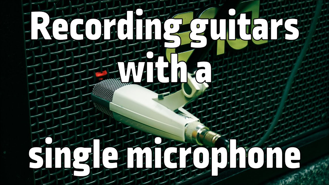 how to make a distorted microphone