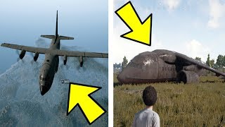 WHAT HAPPENS WHEN YOU STAY IN THE PLANE? (PUBG)