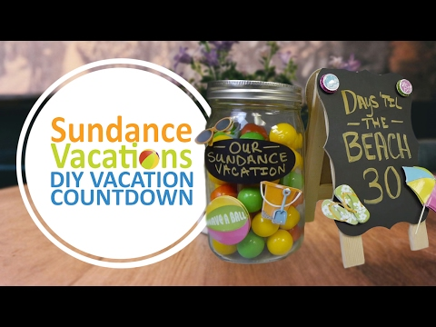 Sundance Vacations DIY Vacation Countdown Calendar- Crafts for Kids