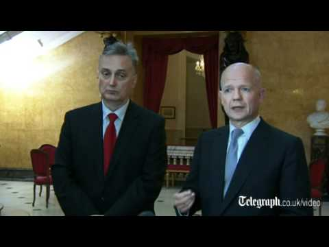 William Hague 'sceptical' of Syria-UN deal