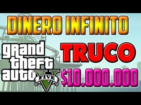 TRUCO GTA V || $36.000 en 1 minuto || DINERO INFINITO GTA 5 || Infinite Money $12.000 in 20seg.