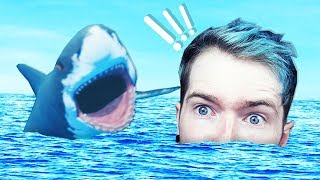 DANTDM vs THE OCEAN!!! (Raft)
