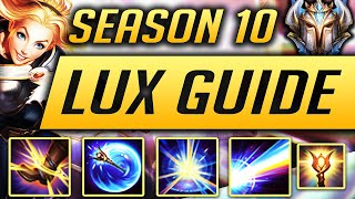 LUX GUIDE SEASON 9 (2019) ULTIMATE GUIDE [BEST RUNES, ITEMS, GAMEPLAY, COMBOS, MATCHUPS] | Zoose