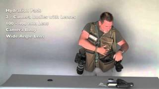 Safari Photo Vest -Convenient  Modular Camera Vest