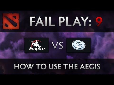 Dota 2 TI4 Fail Play - Empire vs EG - How to use the Aegis
