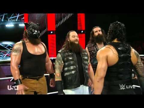 WWE the wyatt family VS Roman  and dean ambrose thumbnail