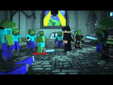 Minecraft Animetions ตำนาน herobrine #2