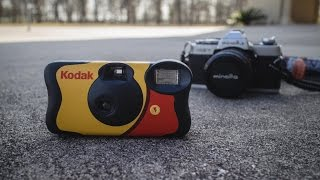 How to Use Film from Disposable Camera in 35mm SLR or Rangefinder