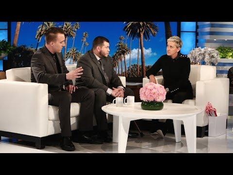 download lagu Ellen Meets Las Vegas Survivors Jesus Campos And Stephen gratis