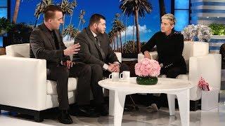 Ellen Meets Las Vegas Survivors Jesus Campos and Stephen Schuck by : TheEllenShow