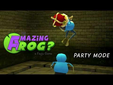 Amazing Frog Party Mode Gaz Can't Drive Frogs