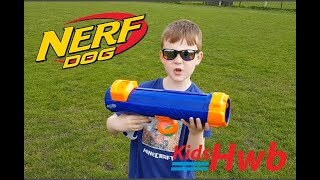 Kids Hwb Nerf Dog Tennis Ball Launcher
