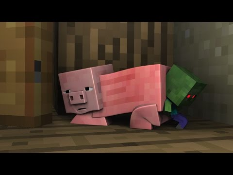 Monster School Minecraft (Preschool) and Herobrine's Cat - Minecraft Animations