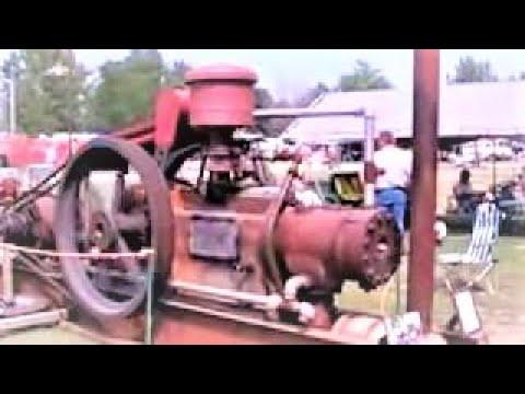 Massive Old Engine running!